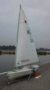 Verkauft! Rushworth Racing Dinghy    BEL 128:  (1996)