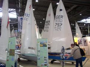 Beach & Boat Messe Leipzig – Die OK-Jolle ist dabei
