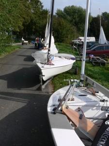 Haltern herrenlose Boote