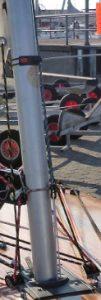 biete: Needlespar Alu-Mast