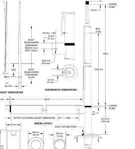 suche: gebrauchten Alu Mast /Baum + Segel