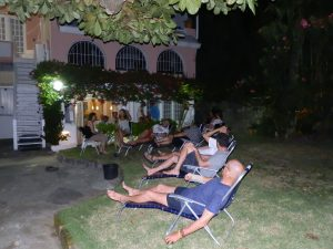 WM-Barbados: Tag 4  Taktik Besprechung Team Germany