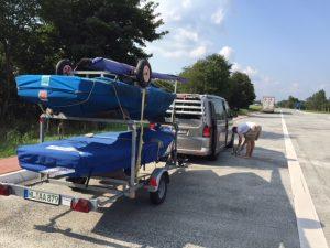 biete: Harbeck Doppeltrailer