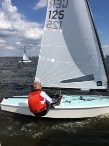 biete: Strandberg  OK Jolle mit/ohne Rigg/Segel